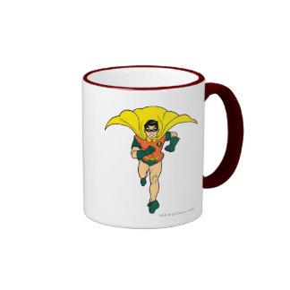 Robin Running Ringer Mug
