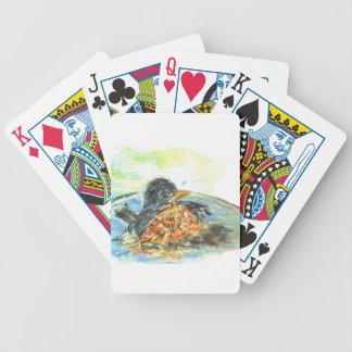 Robin s Bird Bath Deck Of Cards