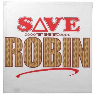 Robin Save Napkin