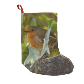 Robin Small Christmas Stocking