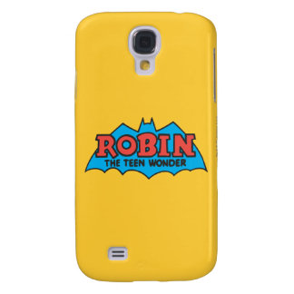 Robin The Teen Wonder Logo Galaxy S4 Case