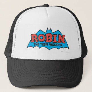 Robin The Teen Wonder Logo Trucker Hat
