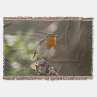 Robin Throw Blanket