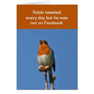 Robin tweet card