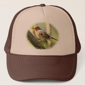 Robin Wild-life Bird Trucker Hat