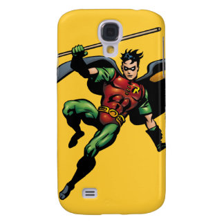 Robin with Staff Galaxy S4 Case