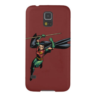 Robin with Staff - Leaps Case For Galaxy S5