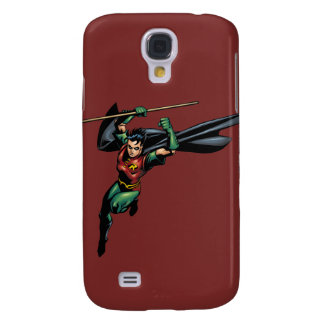 Robin with Staff - Leaps Galaxy S4 Case
