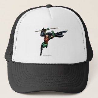 Robin with Staff - Leaps Trucker Hat