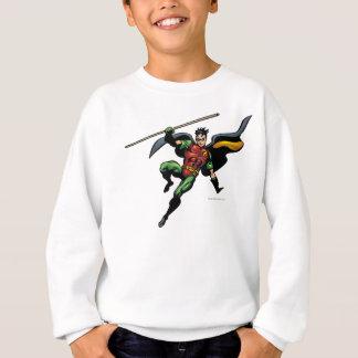 Robin with Staff Sweatshirt