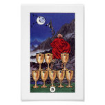 Robin Wood Tarot - 8 of Cups Poster