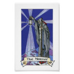 Robin Wood Tarot - Major 09 The Hermit Poster