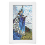 Robin Wood Tarot - Queen of Swords Poster