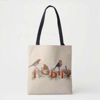 Robins All Over Print Bag