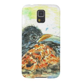 Robin's Bird Bath Galaxy S5 Covers