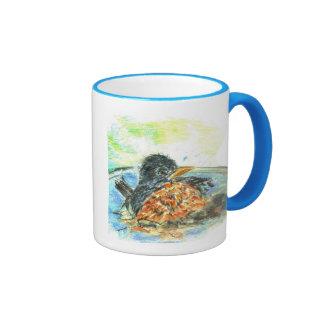 Robin's Bird Bath Ringer Mug