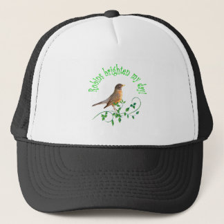Robins Brighten My Day Trucker Hat