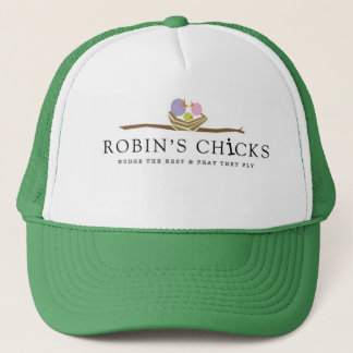 Robin's Chicks Trucker Hair Trucker Hat