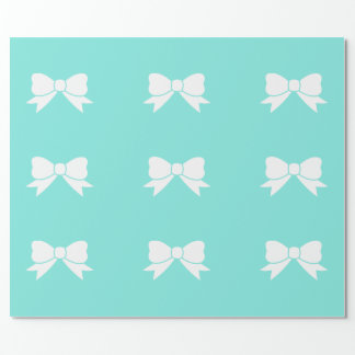 Robins egg Blue Inspired Matte Wrapping Paper