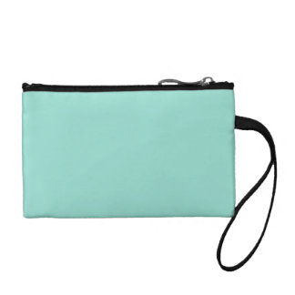 Robin's Egg Blue Solid Color Coin Wallets