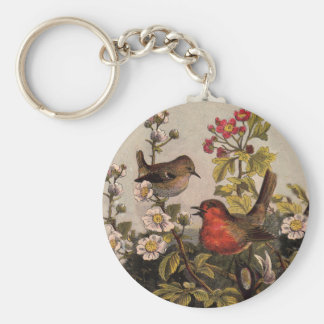 Robins Key Ring