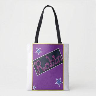 Robin's tote bag