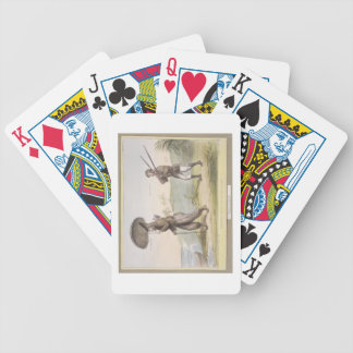 Robinson Crusoe and his Man Friday, (HB Sketches N Bicycle Playing Cards
