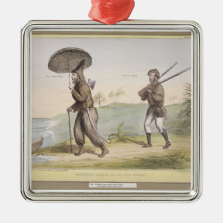 Robinson Crusoe and his Man Friday, (HB Sketches N Christmas Ornament