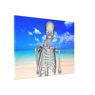 Robinson Crusoe Gallery Wrapped Canvas