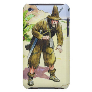 Robinson Crusoe, from 'Peeps into the Past', publi Case-Mate iPod Touch Case