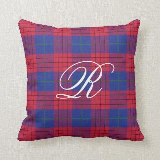 Robinson Tartan Monogram Pillow
