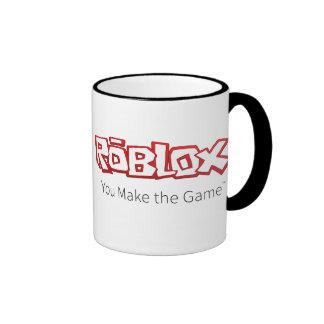 ROBLOX Logo Ringer Mug