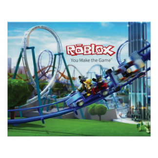 ROBLOX Roller Coaster Poster