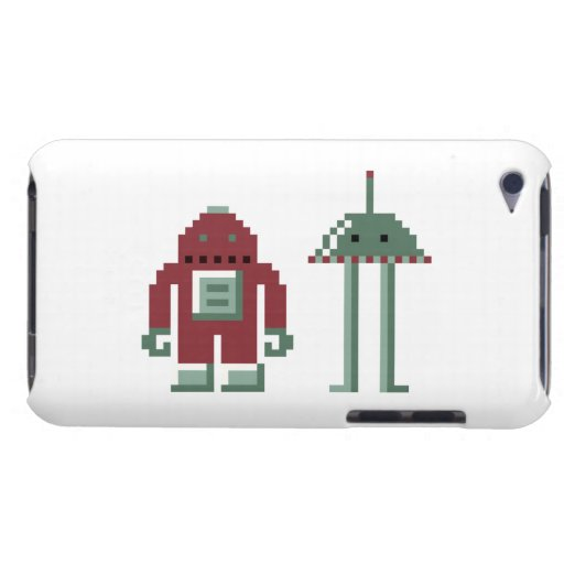 Robo & Bip Barely There iPod Case