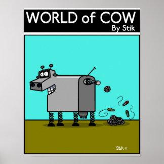 ROBO COW POSTER