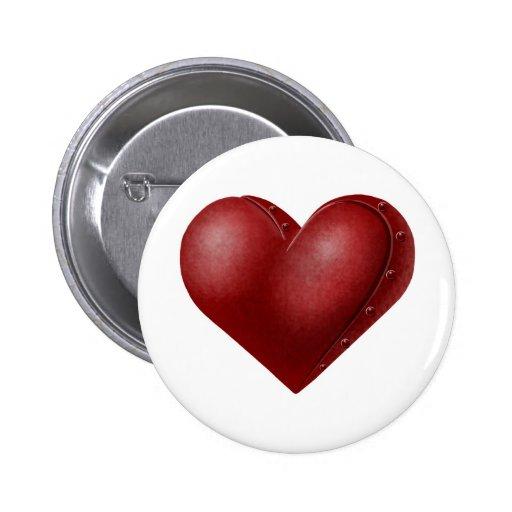 Robo Heart Pin