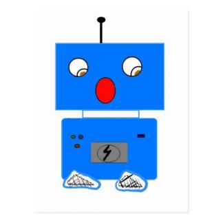 ROBO IN SHOCK POSTCARD