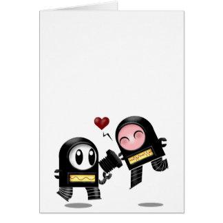 Robo Love Cards