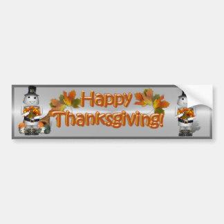 Robo-x9 Celebrates Thanksgiving Bumper Stickers