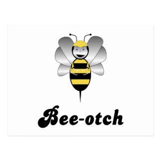 Robobee Bumble Bee Bee-otch Postcard