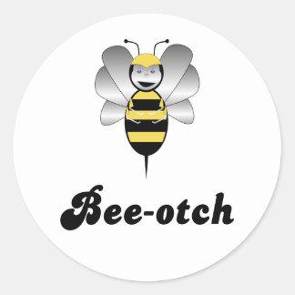 Robobee Bumble Bee Bee-otch Sticker