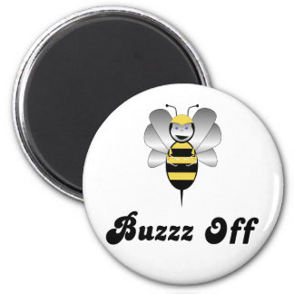 Robobee Bumble Bee Buzz Off Magnet