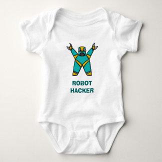 robot12, ROBOT HACKER Baby Bodysuit