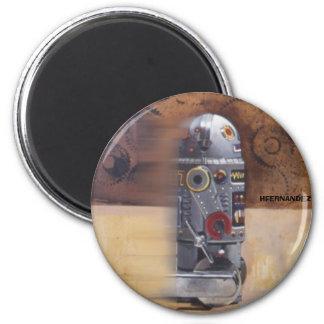 ROBOT2 6 CM ROUND MAGNET
