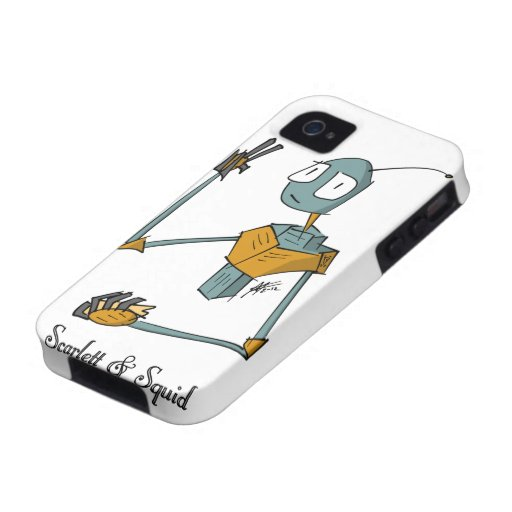 Robot 13 Case-Mate Case for iPhone 4/4S Vibe iPhone 4 Covers