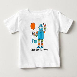 Robot 1st Birthday Party Tee Shirts