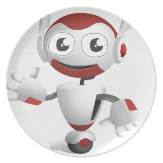 """""""Robot 3"""" Plate"""