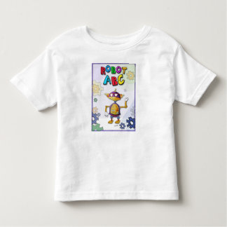 Robot ABC by Jerry Hunt Tshirts