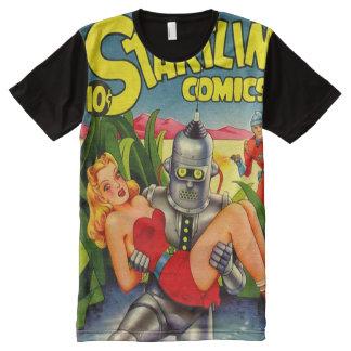 Robot All-Over Print T-Shirt