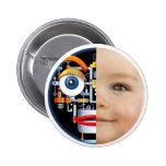 Robot-Baby button